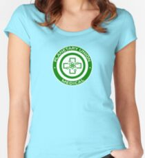 The Orville - Planetary Union -  Medical Women's Fitted Scoop T-Shirt