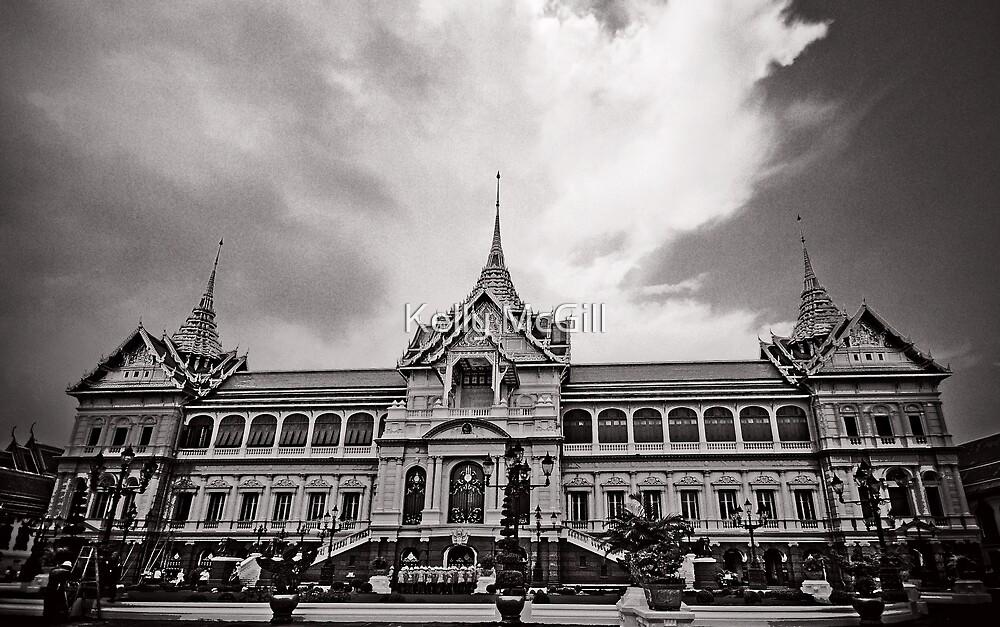 The Grand Palace, Bangkok Thailand by Kelly McGill