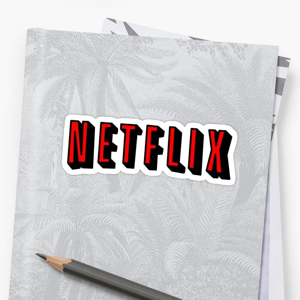 Netflix RED Sticker