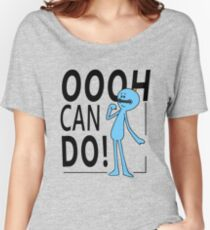Rick & Morty - Mr Meeseeks No.4 (Can Do!) Women's Relaxed Fit T-Shirt
