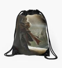 after the storm Drawstring Bag