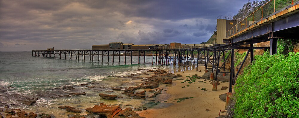 Catherine Hill Bay Coal Loader by Steve D