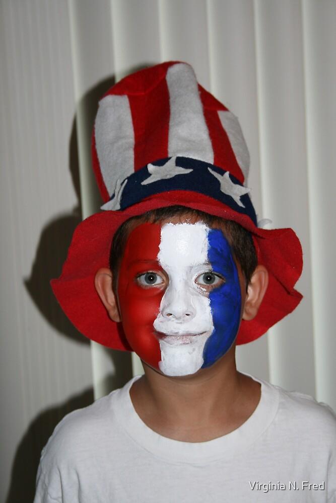 My Proud American by Virginia N. Fred