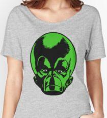 Big Green Mekon Head  Women's Relaxed Fit T-Shirt