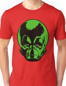 Big Green Mekon Head  Unisex T-Shirt