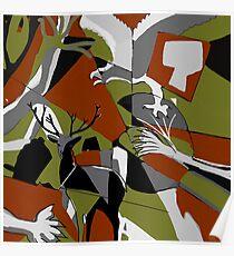 Fragmented Wilderness  Poster