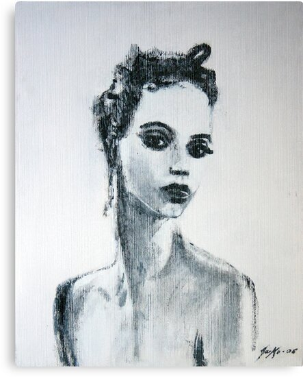 Prima Donna (Ballerina Suzanne Farrell) by Jarko