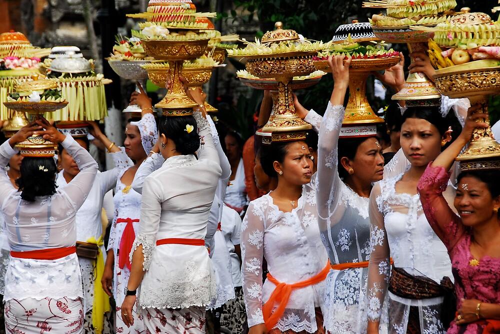 Temple offerings by matt mackay