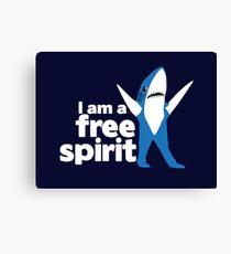 I'm a Free Spirit Canvas Print