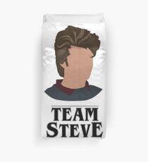 team steve Duvet Cover