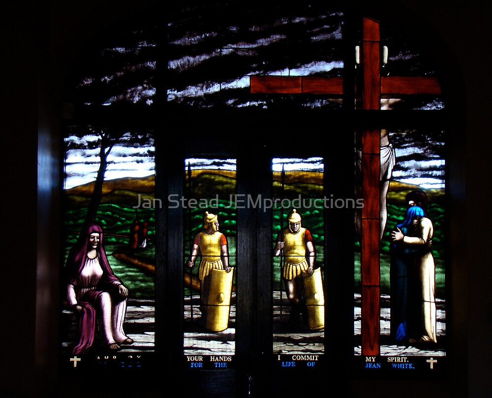 the crucifixion by Jan Stead JEMproductions