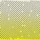 Pineapple Happy Black Polka Dots by rupydetequila