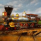 Train - Civil War - EM Stanton 1864 by Michael Savad