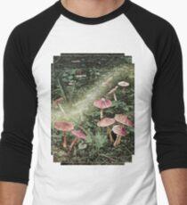 Fairyland (Mushrooms) Men's Baseball ¾ T-Shirt