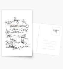 The Vampire Diaries Script Postcards