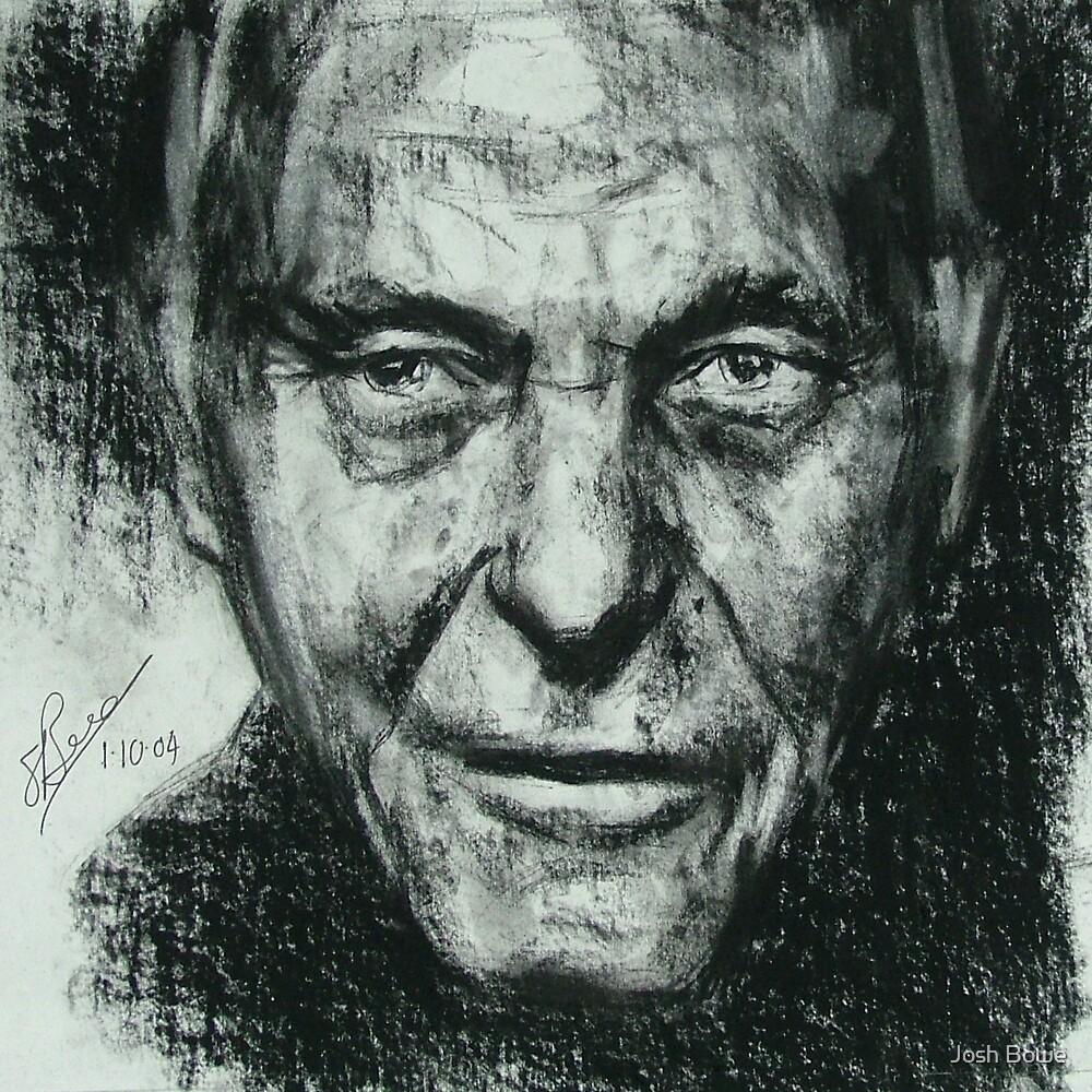 Charcoal Portrait3 by Josh Bowe