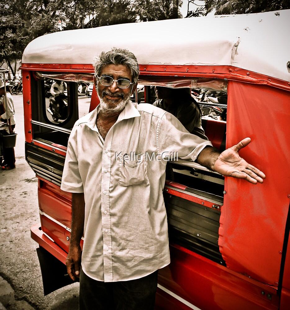 Patong Tuk Tuk Driver by Kelly McGill