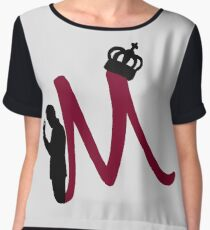 M is for Moriarty Chiffon Top