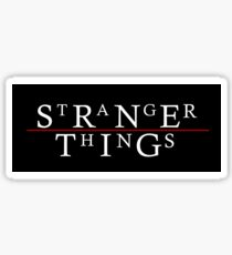 Stranger Things / The Lost Boys Sticker