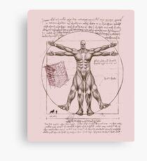 Colossal vitruvian Leinwanddruck