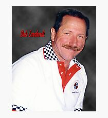 Dale Earnhardt The Intimidator Photographic Print