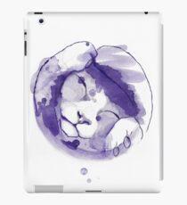 Purple kitten Vinilo o funda para iPad