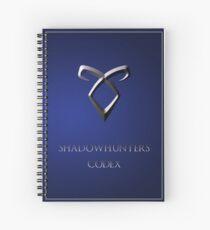 Shadowhunters codex Spiral Notebook
