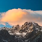 Burning clouds over the mountains  by Patrik Lovrin