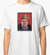 The Notorious Peter Kay - King Of Comedy! Classic T-Shirt