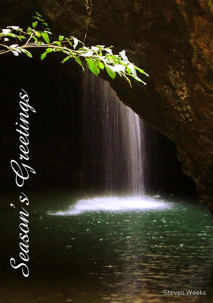 Natural Bridge, Season's Greetings by Steven Weeks