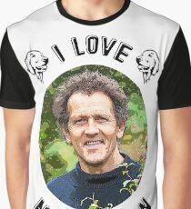 I Love Monty Don Graphic T-Shirt