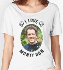 I Love Monty Don Women's Relaxed Fit T-Shirt