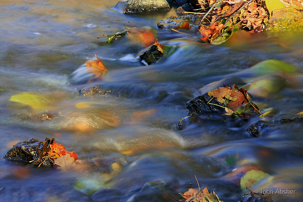 Autumn Currents by John Absher