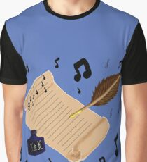 Music is everywhere Graphic T-Shirt