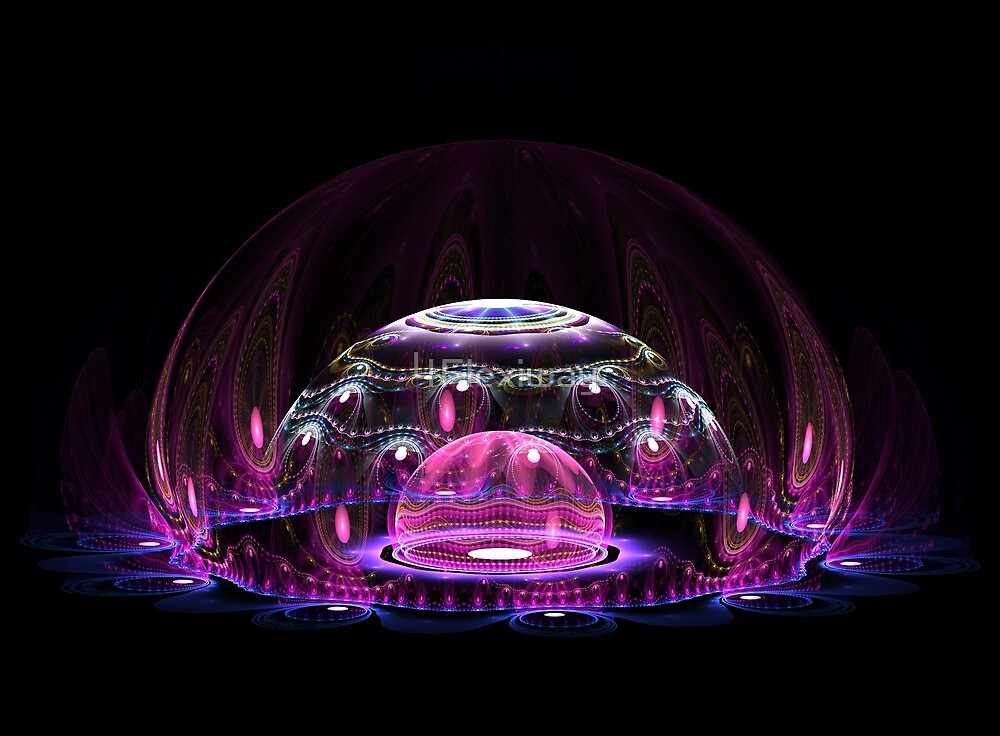 Jelly fish....fractal by 4Flexiway