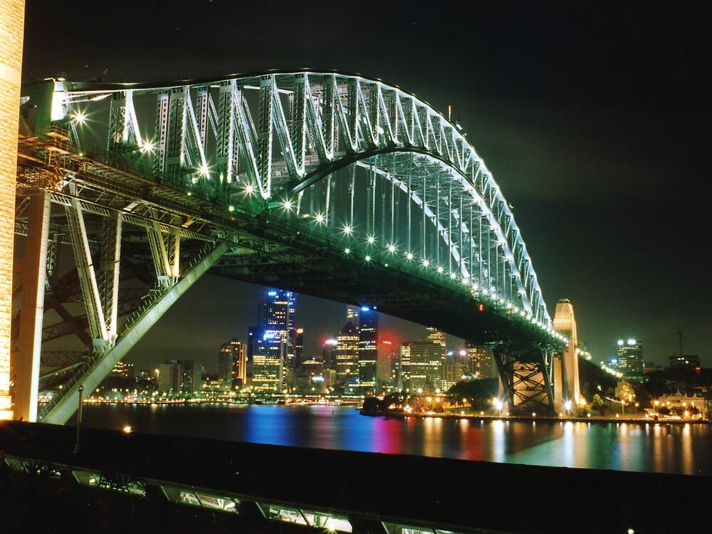 Sydney Harbour Bridge by Keith G. Hawley