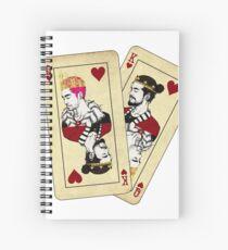 BTK Cards Spiral Notebook