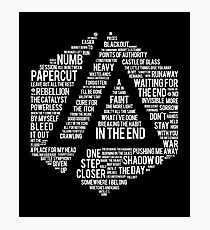 Art Print Linkin Park All Name Album Photographic Print