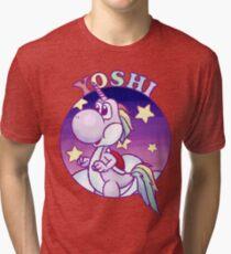 Unicorn Yoshi Tri-blend T-Shirt