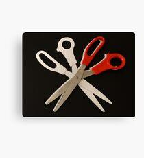 Scissors Canvas Print