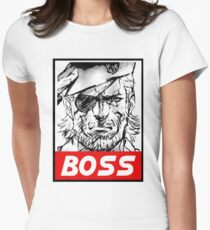 Boss Women's Fitted T-Shirt