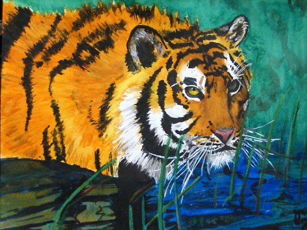 Le Tigre by deo4515