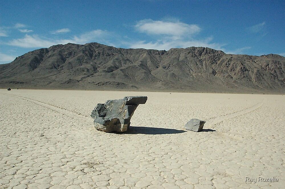 When Worlds Collide / Death Valley Racetract by Ray Rozelle