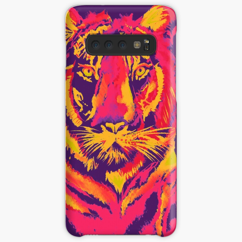 Thermal Tiger Case & Skin for Samsung Galaxy
