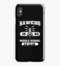 hawking av club middle school strange demogorgon tv show iPhone Case/Skin