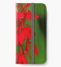 Scarlet Lobelia iPhone Wallet/Case/Skin