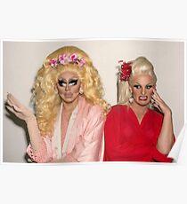 Trixie Mattel und Katya Poster