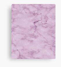 Bright Purple Marble Pattern Canvas Print