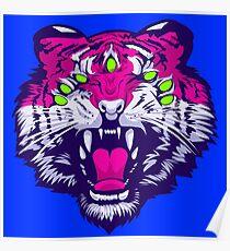 Seven-Eyed Tiger Poster