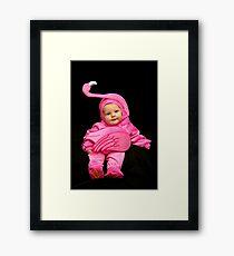 My Little Pink Flamingo Framed Print